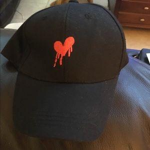 Broken Heart Hat New Adjustable